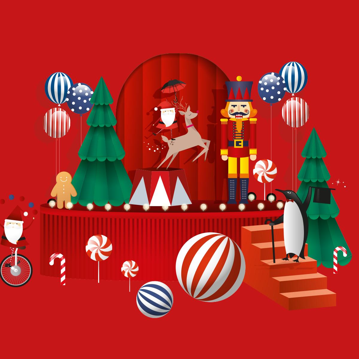 Julens program i december